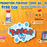 Read more about McDonald's Happy Meal Free Pokemon Toy 24 Jul - 20 Aug 2014