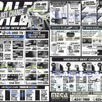 Mega Discount Store TVs, Appliances & Air Conditioner Offers 30 Aug 2014