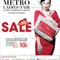 Read more about Metro Ladies Fair @ Centrepoint 4 - 10 Aug 2014