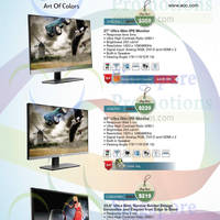 Read more about AOC Monitors Offers Price List 8 - 31 Aug 2014