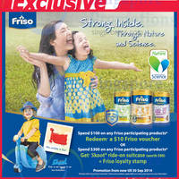 Read more about Friso Spend $100 & Get Free $10 Voucher @ NTUC Fairprice 8 Aug - 30 Sep 2014