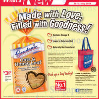 Read more about Gardenia New Oats & Honey Load Bread Promotion @ NTUC Fairprice 15 - 21 Aug 2014