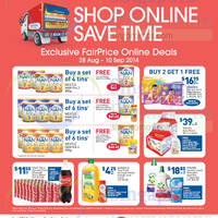 Read more about NTUC Fairprice Exclusive Online Deals 28 Aug - 10 Sep 2014