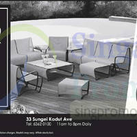 Read more about Natural Living Outdoor Furniture Bazaar 50% Off @ Park Mall 30 Aug 2014