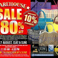 Read more about Nimeshop Branded Handbags Sale @ WCEGA Tower 16 - 17 Aug 2014