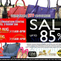 Read more about Nimeshop Branded Handbags Sale @ Suntec Convention Centre 29 - 31 Aug 2014