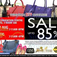 Read more about Nimeshop Branded Handbags Sale @ Suntec Convention Centre 29 - 31 Aug 2014