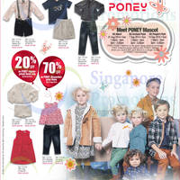 Read more about Poney 20% OFF & 70% OFF Sale Items Promo @ OG 28 Aug - 6 Oct 2014