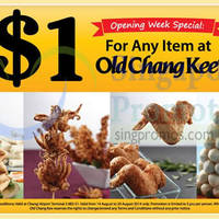 Read more about Old Chang Kee $1 Promotion @ Changi Airport 14 - 20 Aug 2014