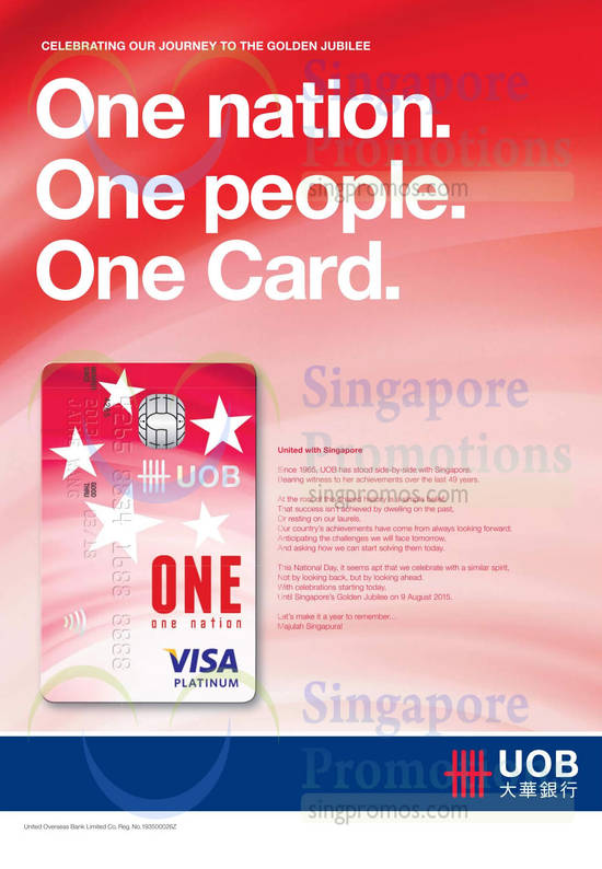 One Nation Visa Platinum Card
