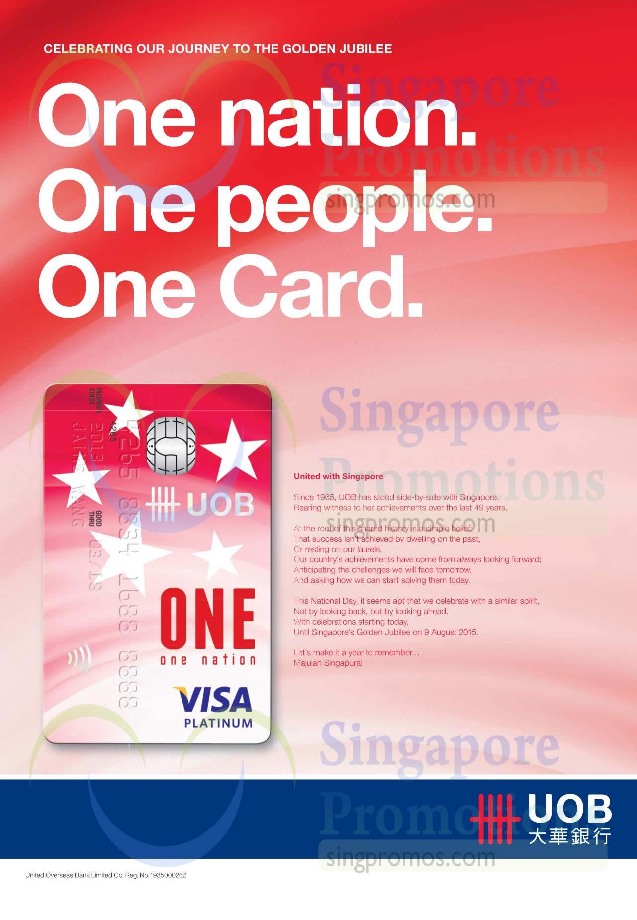 One Nation Visa Platinum Card