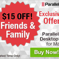 Read more about Parallels $15 Off Parallels Desktop 9 Software Promo 6 - 8 Aug 2014