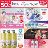 Watsons Personal Care, Health, Cosmetics & Beauty Offers 21 - 27 Aug 2014