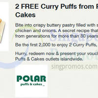 Read more about Polar Puffs & Cakes FREE Curry Puffs For Singtel Customers 11 Aug 2014