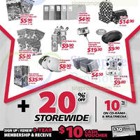 Read more about Popular 20% OFF Storewide Promotion 15 - 24 Aug 2014