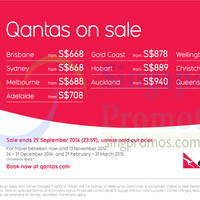 Read more about Qantas Promotion Air Fares 21 Aug - 29 Sep 2014