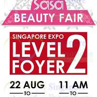 Read more about SaSa Beauty Fair @ Singapore Expo 22 - 24 Aug 2014