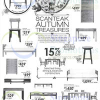 Scanteak Autumn Treasures Offers 23 Aug 2014