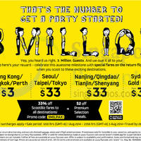 Read more about Scoot From $3 to $33 Promo Air Fares 1 - 3 Aug 2014