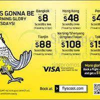 Read more about Scoot From $8 2hr Promo Air Fares 12 Aug 2014