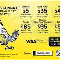 Read more about Scoot From $5 2hr Promo Air Fares 19 Aug 2014