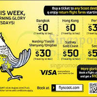 Read more about Scoot From $0 2hr Promo Air Fares 26 Aug 2014