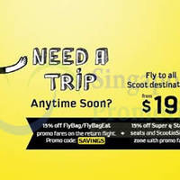 Read more about Scoot From $19 Promo Air Fares 29 - 31 Aug 2014