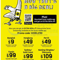 Read more about Scoot From $9 5hr Promo Air Fares 5 Aug 2014