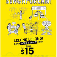 Read more about Scoot From $15 1 For 1 Promo Air Fares 7 - 9 Aug 2014