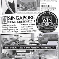 Read more about Singapore Home & Design Show @ Singapore Expo 16 - 24 Aug 2014