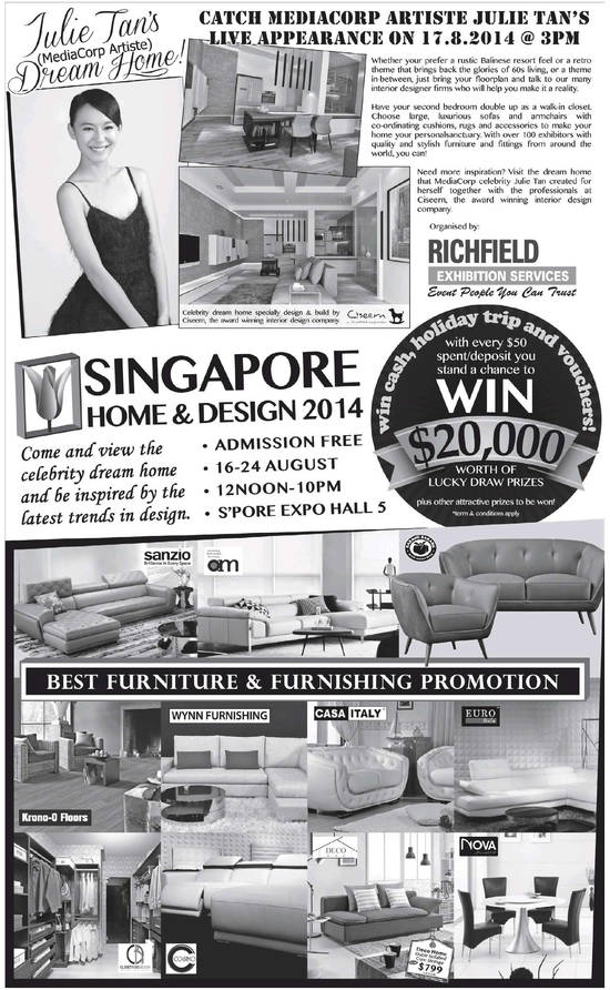 Show Detail, Lucky Draw, Participating Interion Designing Companies