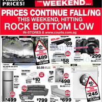 Courts Falling Prices Offers 23 - 24 Aug 2014