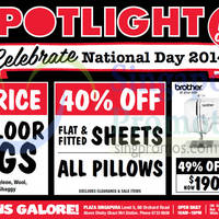 Read more about Spotlight National Day Promotions 8 - 11 Aug 2014