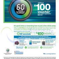 Read more about Standard Chartered Apply CashOne Loan & Get $100 Voucher 1 Aug - 31 Oct 2014