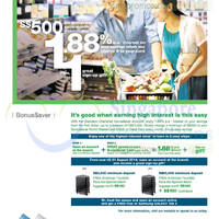 Read more about Standard Chartered Up To 1.88% p.a. Interest With Bonus$aver 1 Jun - 31 Aug 2014