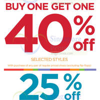 Read more about Stride Rite 40% Off Selected Styles Promotion 29 Aug - 28 Sep 2014