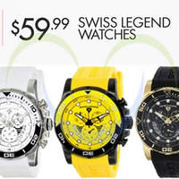 Read more about Swiss Legend 88% OFF Avalanche Watches 24hr Promo 14 - 15 Aug 2014