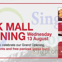 Read more about Swissbake 1 For 1 Pastries Promo @ CityLink Mall 13 Aug 2014
