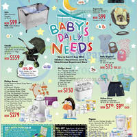 Takashimaya Baby Fair Offers 22 - 31 Aug 2014