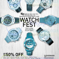 Read more about Takashimaya Watch Fest 21 Aug - 2 Sep 2014