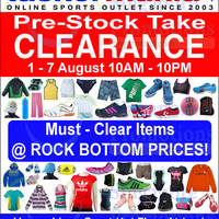 Read more about Taskermania Sports Clearance Sale @ Liang Court 1 - 7 Aug 2014
