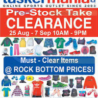Read more about Taskermania Sports Clearance Sale @ Funan Digitalife Mall 25 Aug - 7 Sep 2014
