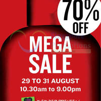 The Body Shop Mega SALE @ Singapore Expo 29 - 31 Aug 2014