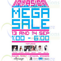 Space Invasion Mega Sale 2 @ The Cathay 13 - 14 Sep 2014
