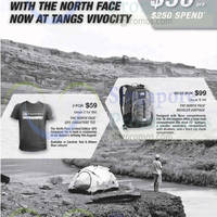 Read more about The North Face Spend $250 & Get $50 OFF @ Tangs VivoCity 8 Aug 2014