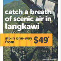 Read more about TigerAir Langkawi Promotion Air Fares 25 - 31 Aug 2014