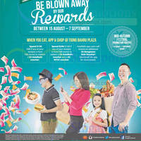 Read more about Tiong Bahru Plaza Get Blown Away By Rewards Promotions 15 Aug - 7 Sep 2014