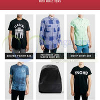 Read more about Topman 20% OFF Total Bill Promo 8 - 10 Aug 2014