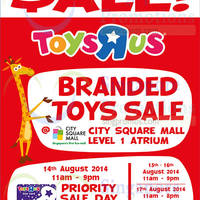 "Read more about Toys ""R"" Us Branded Toy SALE 15 - 17 Aug 2014"