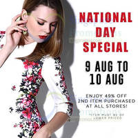 Read more about Tracyeinny 49% OFF 2nd Item Promo 9 - 10 Aug 2014